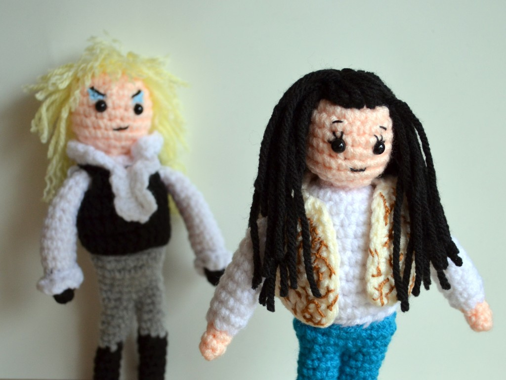Sarah and Jareth Labyrinth - Pops de Milk