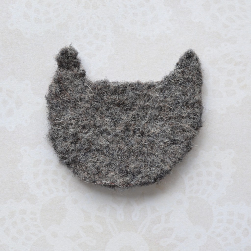 DIY Felt Cat Brooch - Pops de Milk