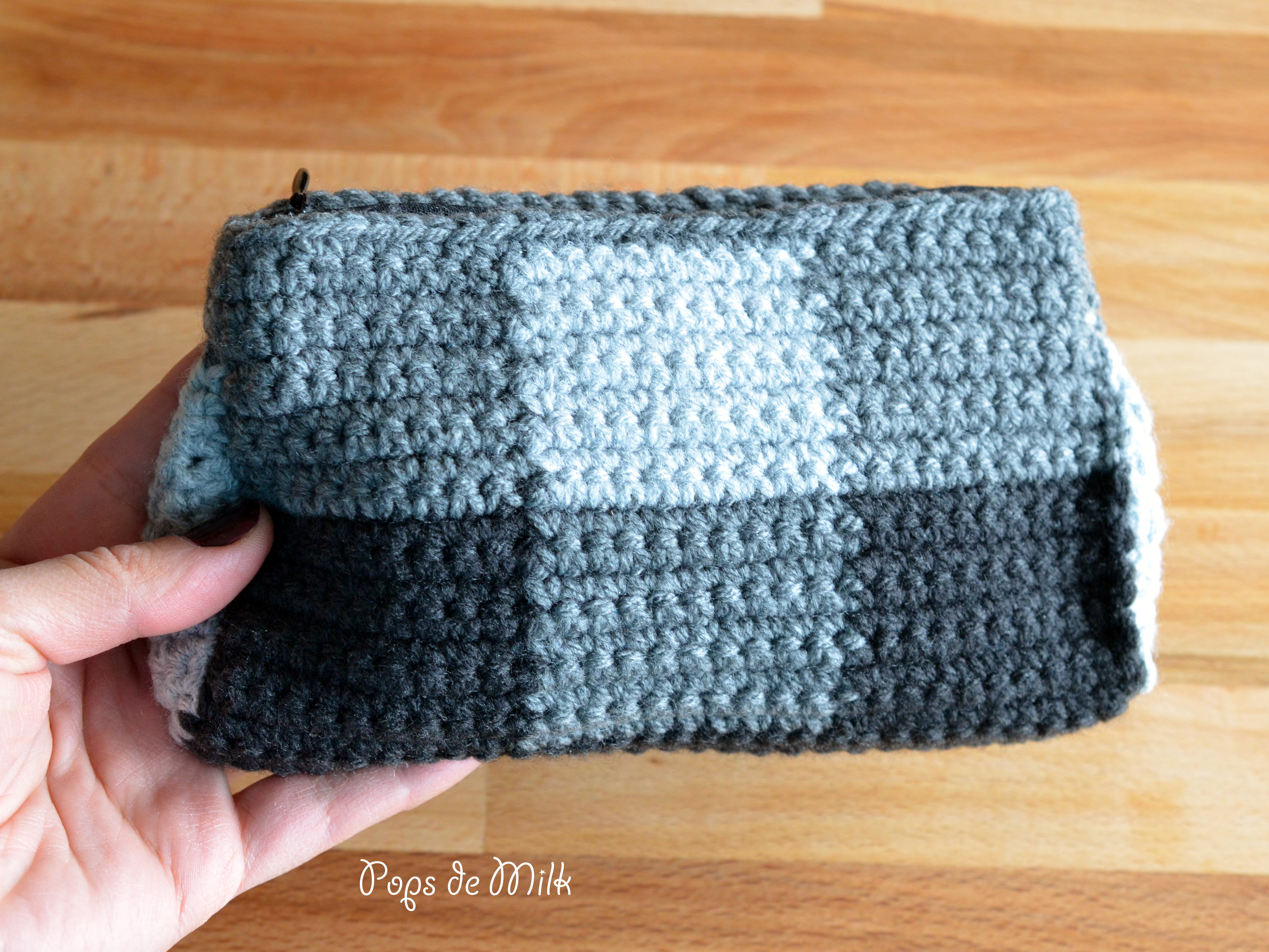 Free Crochet Patterns For Makeup Bags : Crochet