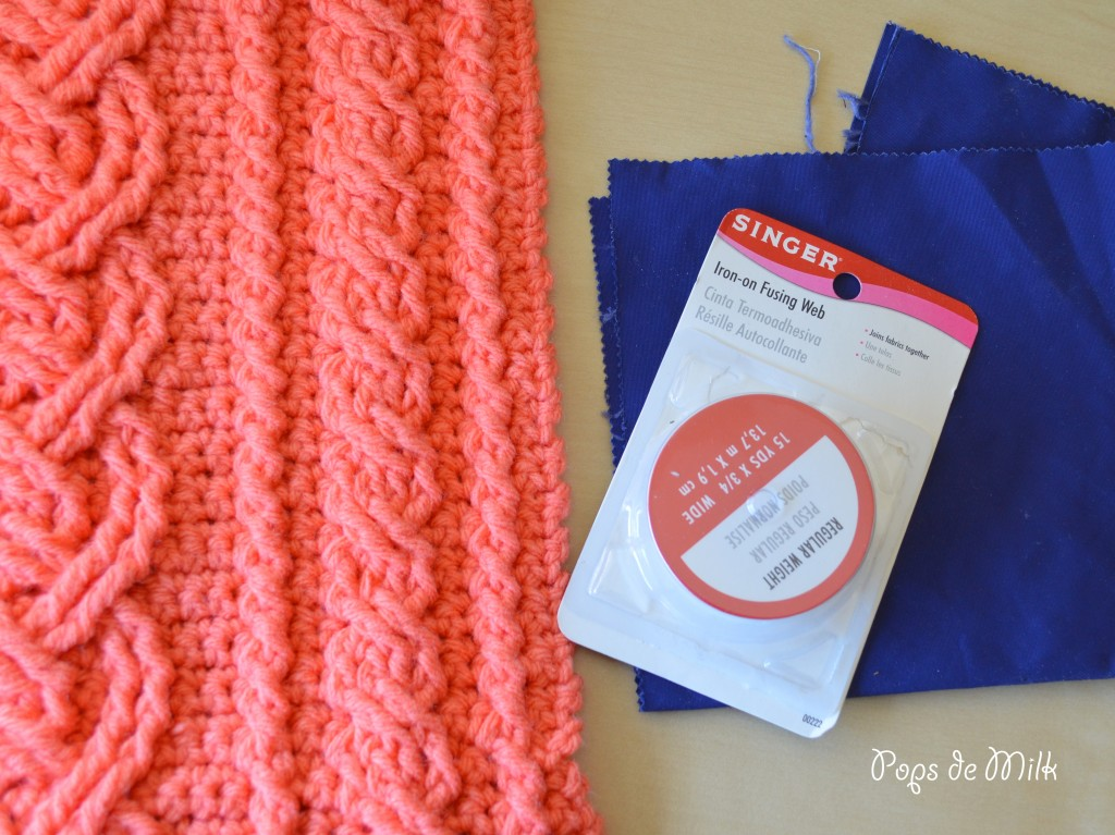 Crocheting Cables : Crochet Cables Clutch - Pops de Milk