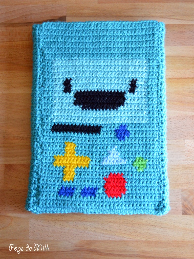 Crochet BMO Tablet Sleeve - Pops de Milk
